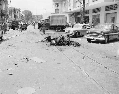 File:Scene of Viet Cong terrorist bombing in Saigon