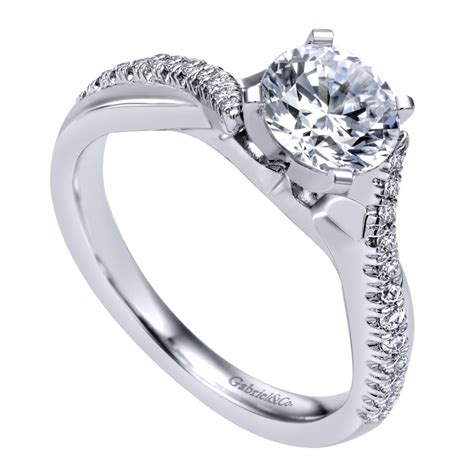 gabriel co engagement rings crossover 19ctw diamonds