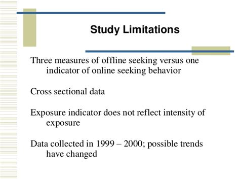 cross sectional study limitations limitation of cross sectional study 28 images a
