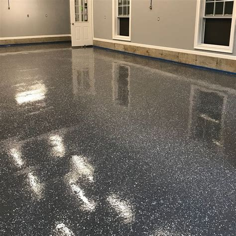 epoxy floor coating resist chemicals abrasion impact  concrete