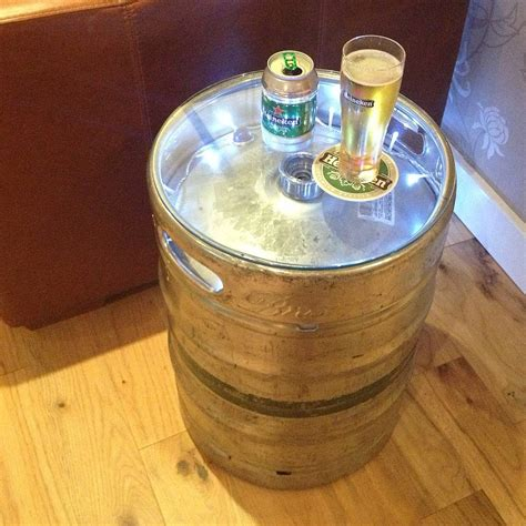 Keg Table by Upcycled Table Fresh Design