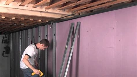 cost to gut a house to the studs smart u video 414 metal stud framing youtube