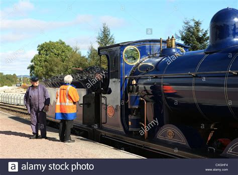 steam train boat of garten steam engine caledonian 828 at boat of garten steam