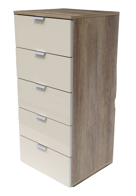 kommode highboard kommode highboard flurkommode 5 schubladen wildeiche sand