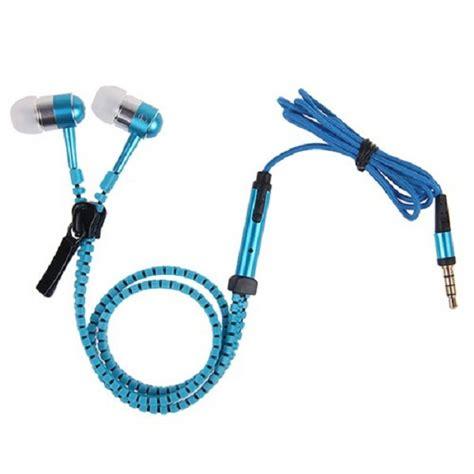 Headset Zipper holygeekz stylish zipper earphone holygeekz