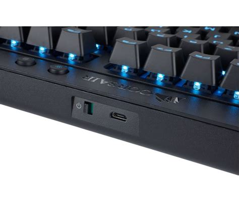 Keyboard Gaming Corsair K63 corsair k63 wireless mechanical gaming keyboard deals pc world