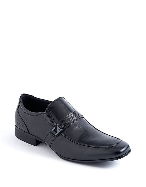 kenneth cole mens loafers kenneth cole reaction extravert leather loafers in black