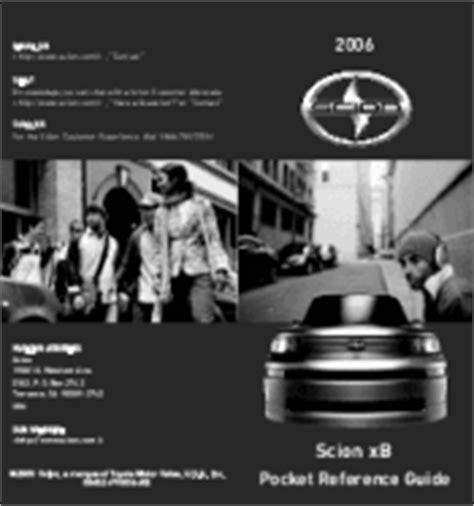 service and repair manuals 2006 scion xb free book repair manuals 2006 toyota scion xb owners manual