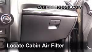 cabin air filter replacement kia sorento 2016