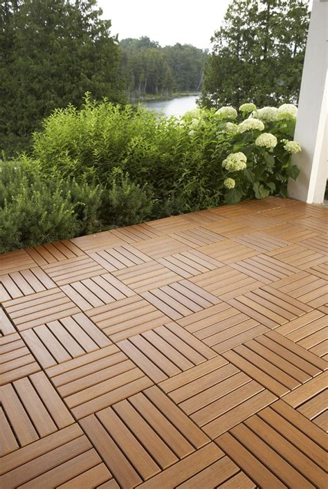 patio floor tiles kontiki interlocking deck tiles engineered polymer