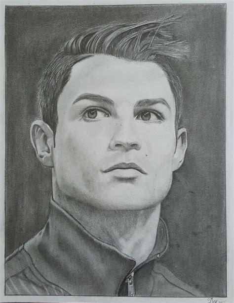 dibujos realistas en lapiz dibujo a l 225 piz original realista de cristiano ronaldo