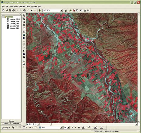 arcgis orthorectification tutorial arcnews spring 2007 issue arcgis image server now
