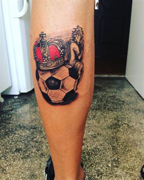 neymar on football and crown tattoo tattoos my work