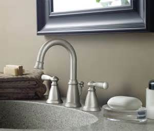 Moen Banbury Kitchen Faucet Moen Ca84924srn Banbury Two Handle Widespread Lavatory Faucet Spot Resist Brushed Nickel