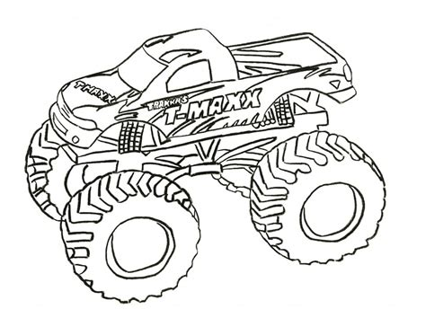 childrens monster truck videos free printable monster truck coloring pages for kids