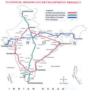 national highways map