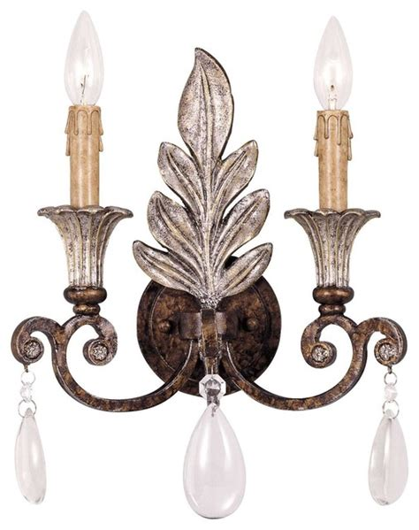 Eclectic Wall Sconces st laurence 2 light sconce eclectic wall sconces by fratantoni lifestyles