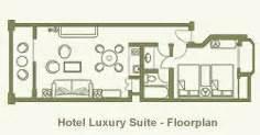 Pueblo Bonito Sunset Beach Executive Suite Floor Plan Luxury Suite Accomodations Pueblo Bonito Los Cabos