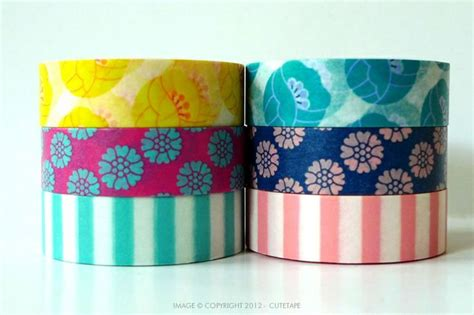 washing tape ppretty tulip washi tape available in 2 color sets