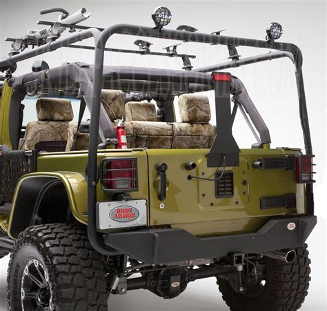Jeep Accessories Catalog Armor Rear Base Bumper Based On Jk 2394 Style