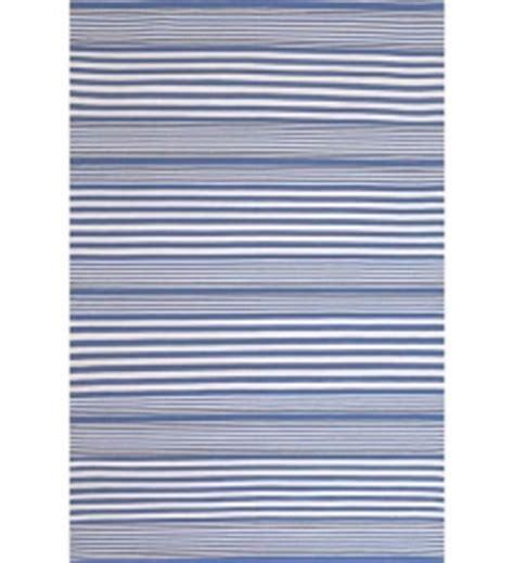 teppich blau weiß gestreift dash albert outdoor teppich blau im greenbop