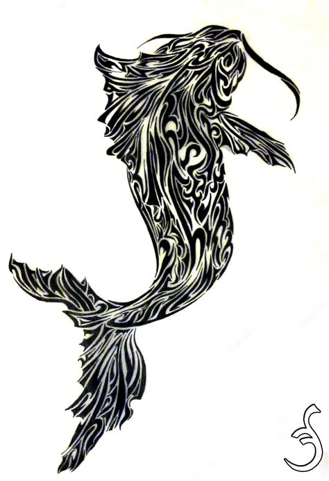 fish tattoo designs art koi fish design 2 by griffon2745 on deviantart