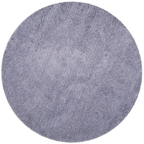 4 foot area rugs safavieh classic shag lilac 4 ft x 4 ft area rug sg140l 4r the home depot