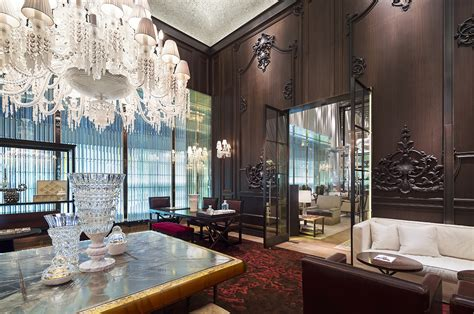 baccarat hotels residencesluxury hotels in new york som s baccarat hotel residences hits luxury design in