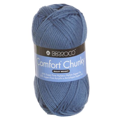Comfort Chunky by Berroco Comfort Chunky Yarn 5747 Cadet At Jimmy Beans Wool
