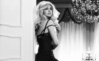 Kate upton black white wallpapers pictures photos images
