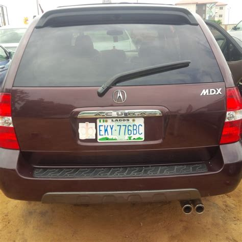 acura 2 seater clean registered 2003 acura mdx 3rows seater