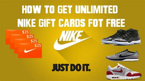 How To Get Free Nike Gift Cards - how to get free nike gift cards 100 proof 2017 new method youtube