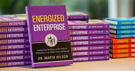 energized books energized enterprise by tsi ceo marta wilson available