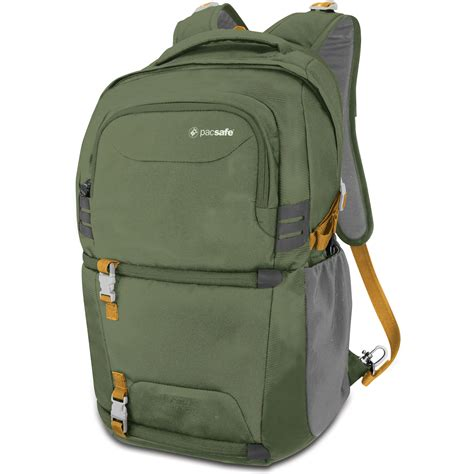 Backpack Pacsafe pacsafe camsafe venture v25 backpack olive khaki
