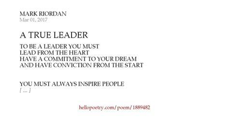true leader  mark riordan  poetry