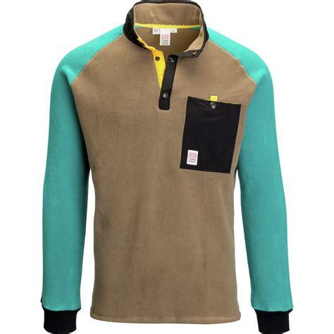 Design Pullover Jacket | topo designs mountain fleece pullover jacket men s