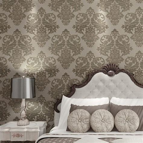 wallpaper 4 color damask wallpaper scroll