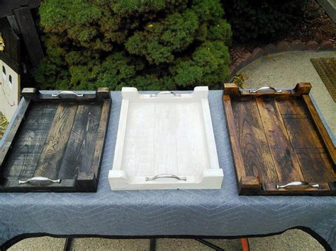 Diy Tray diy pallet serving trays
