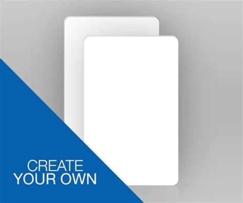 Design Your Own Id Card Uk | double sided portrait id card create your own