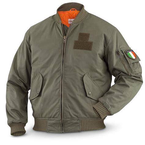 Sale Army Bomber Jacket new italian surplus waterproof bomber jacket 636928 flight jackets at sportsman s guide