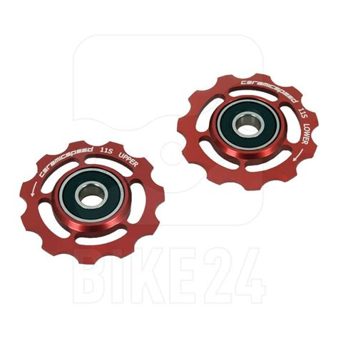 Ceramicspeed Pulley Wheel Sram 11 Spd Aloy Cspw10702000 ceramicspeed ceramic aluminum pulley wheels for sram 11 speed pair