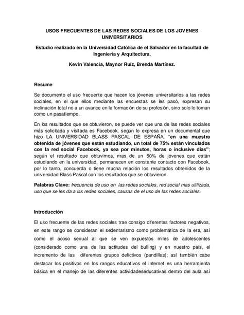 Articulo cientifico redes sociales