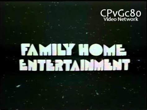 family home entertainment 1983