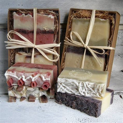 Boxes For Handmade Soap - gourmet artisan handmade soap gift box soap