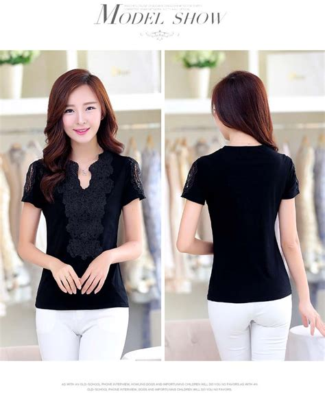 Baju Atasan Wanita Murah Atasan Korea Import Louise Top baju atasan wanita kerah v hitam model terbaru jual murah import kerja