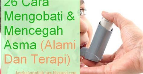 Terapi Alami Untuk Asma 26 cara mengobati dan mencegah asma alami terapi