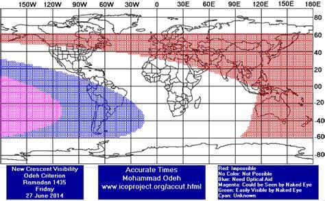 Mengintip Bulan Sabit Sebelum Maghrib problema rukyat hilal qobla ghurub bisa terjadi sebelum