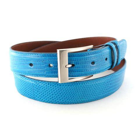 delicaz turquoise leather belt leather4sure