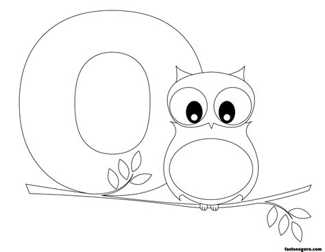 printable owl worksheets printable animal alphabet worksheets letter o is for owl