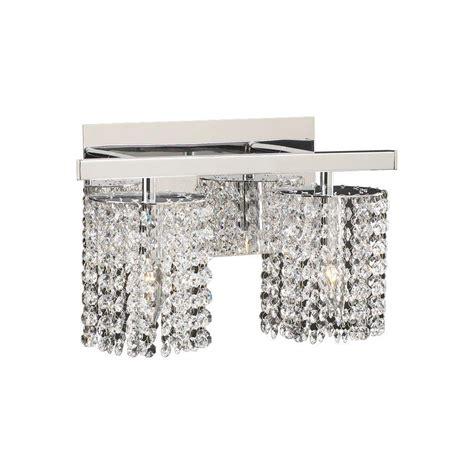 clear glass bathroom lighting plc lighting 2 light polished chrome bath vanity light